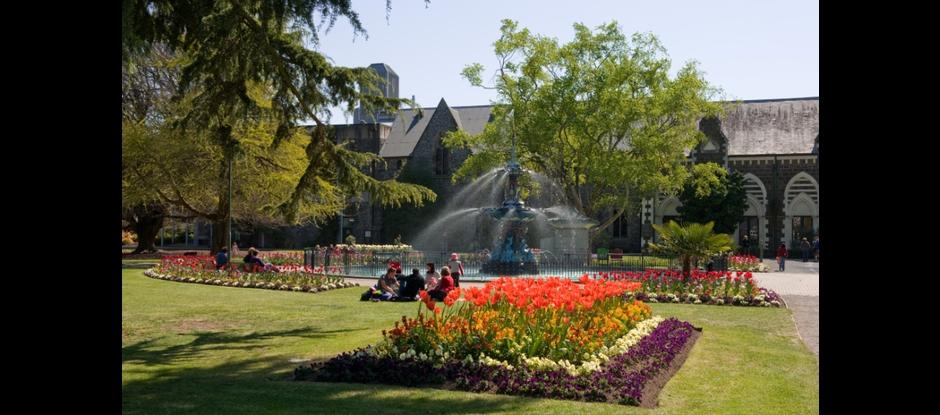 Nz gardens trust christchurch canterbury for Landscape gardeners christchurch