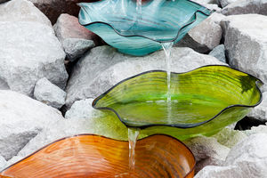 Lava Glass Sculpture Garden
